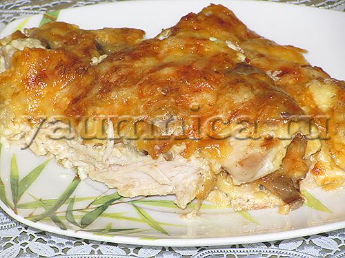 Блюда из куриных грудок рецепты с пошаговыми 338