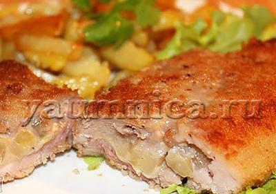 кармашки из свинины