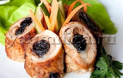 крученики из свинины рецепт