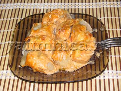 ригатони с мясом