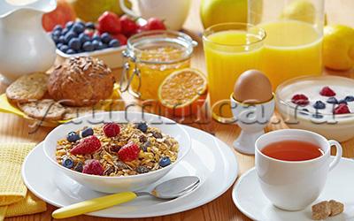 завтраки высоуглеводные