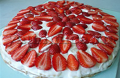 рецепт торта на сметане