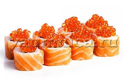 суши с лососем рецепт
