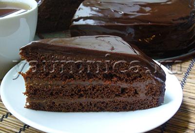 домашний торт рецепт