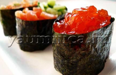 Гункан-маки рецепт
