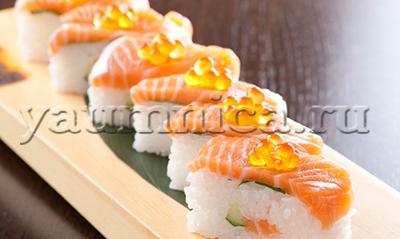 Осидзуси рецепт с фото