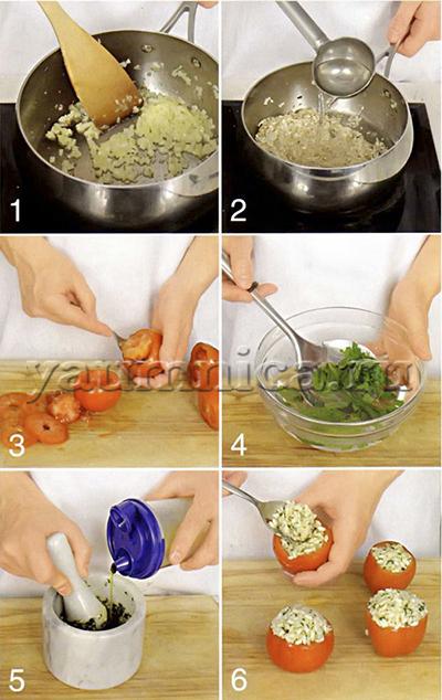 рецепт запеченных помидоров