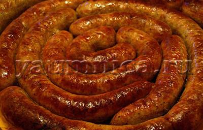 Вкусная домашняя колбаса