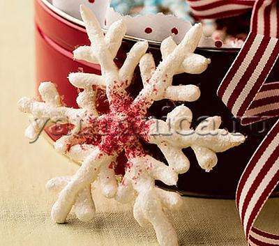 вкусные снежинки рецепт
