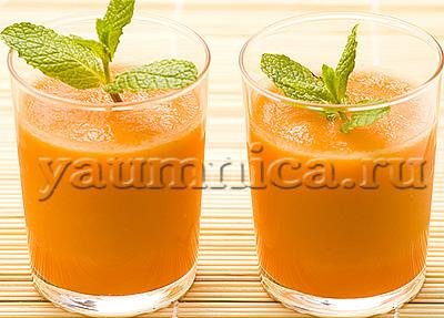морковный смузи рецепт