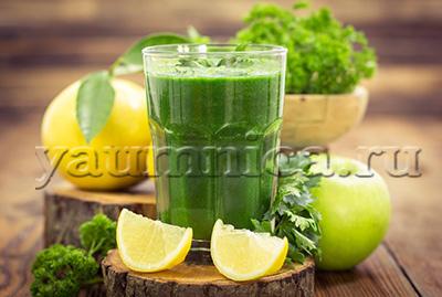 смузи с зеленью рецепт