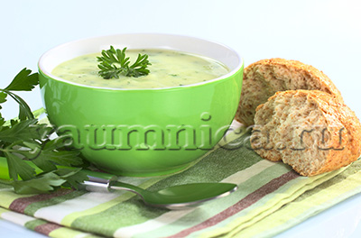 кабачковый крем суп рецепт