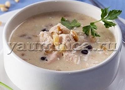 рецепт супа из индейки
