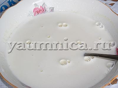 рецепт заварного крема