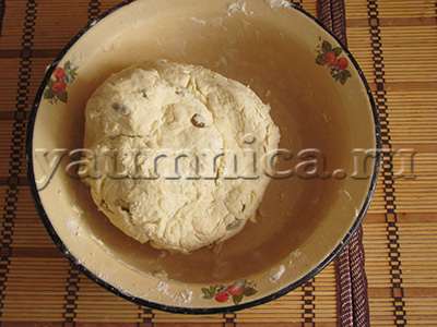 сдобное тесто для булочек
