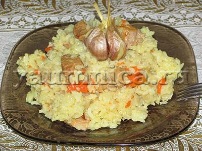 Вкусный узбекский плов