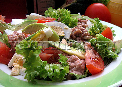 Салат с яйцом, рецепт