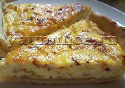 творожно-сырный пирог рецепт