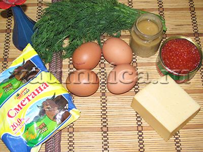 начинка для яиц рецепт