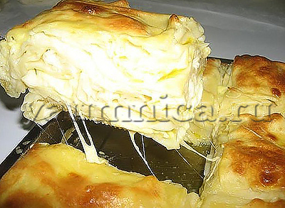 рецепт ачмы с сыром