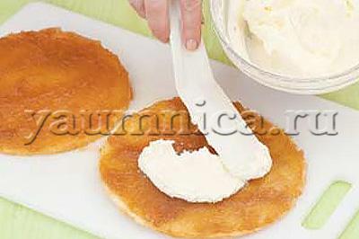торт бисквитный домашний рецепт