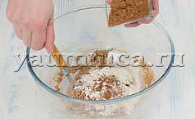 рецепт пирожных
