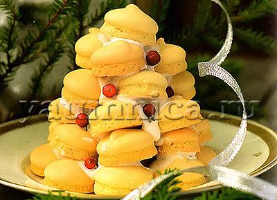 бисквитный торт с безе рецепт