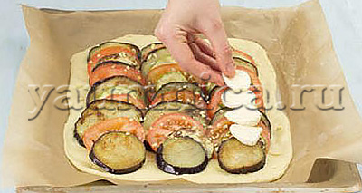 овощной пирог рецепт
