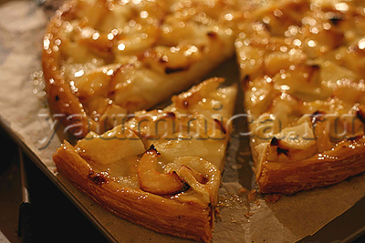 яблочный пирог на песочном тесте рецепт