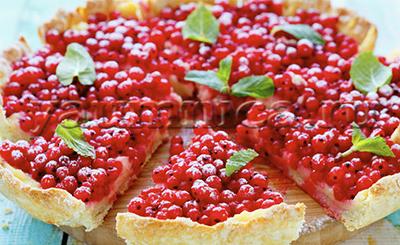 пирог со смородиной рецепт