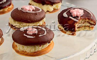рецепт бисквитного пирожного