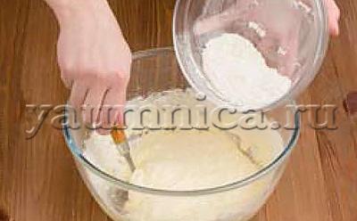 пирожное с кремом рецепт