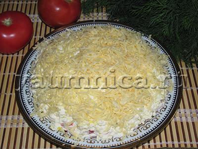 слоеный салат рецепт