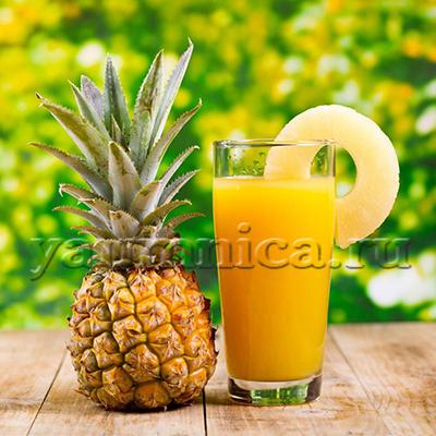 ананасовый сок польза