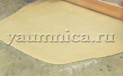 постное слоёное тесто бездрожжевое как приготовить