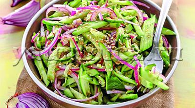 салат из огурцов рецепт