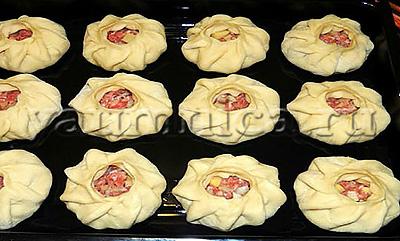 приготовление мясного пирога