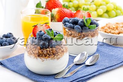 Завтрак из мюсли рецепт
