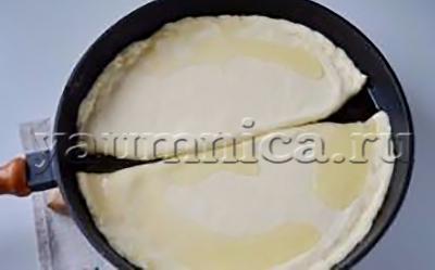 хачапури с сыром и творогом рецепт