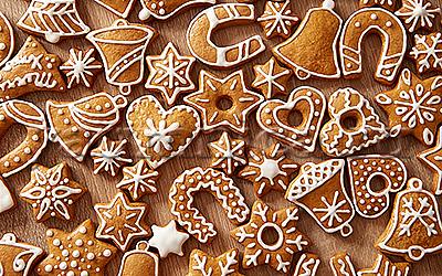 новогоднее печенье рецепт