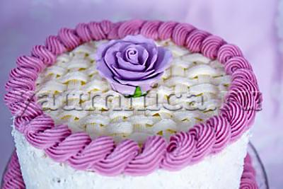 оформление праздничного торта