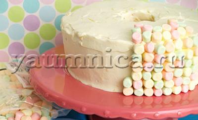 Торт с маршмэллоу рецепт