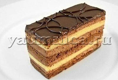 шоколадные пирожные рецепт