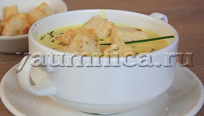 сырный суп с говядиной рецепт