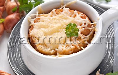 Вкусный луковый суп рецепт