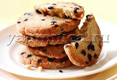 печенье с черникой рецепт