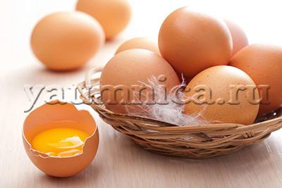 Куриные яйца польза