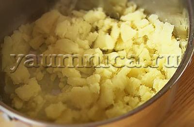 картофельное пюре рецепт