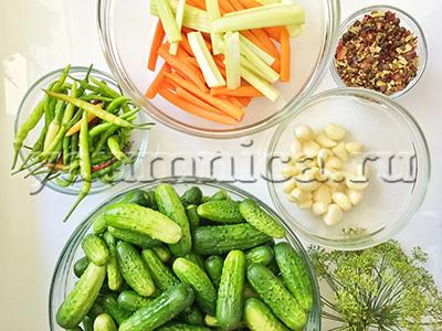огурцы на зиму рецепт