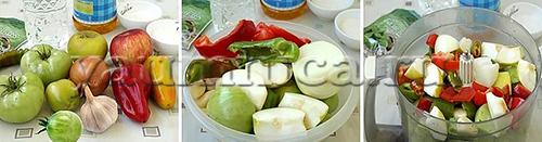Острая аджика из зеленых помидоров рецепт